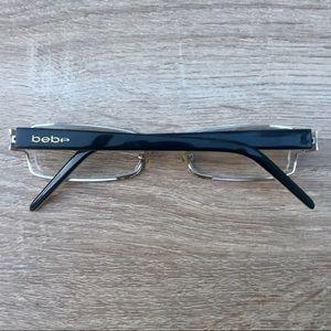 bebe eye liner eyeglasses frames 47 17 130